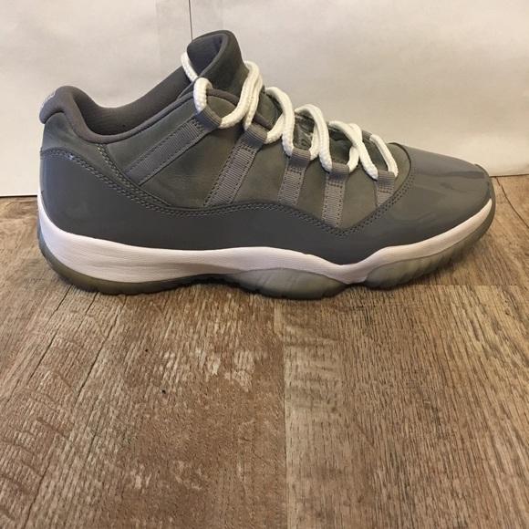 quality design f080f b2fa9 Nike Air Jordan 11 XI Low Cool Grey mens size 9.5